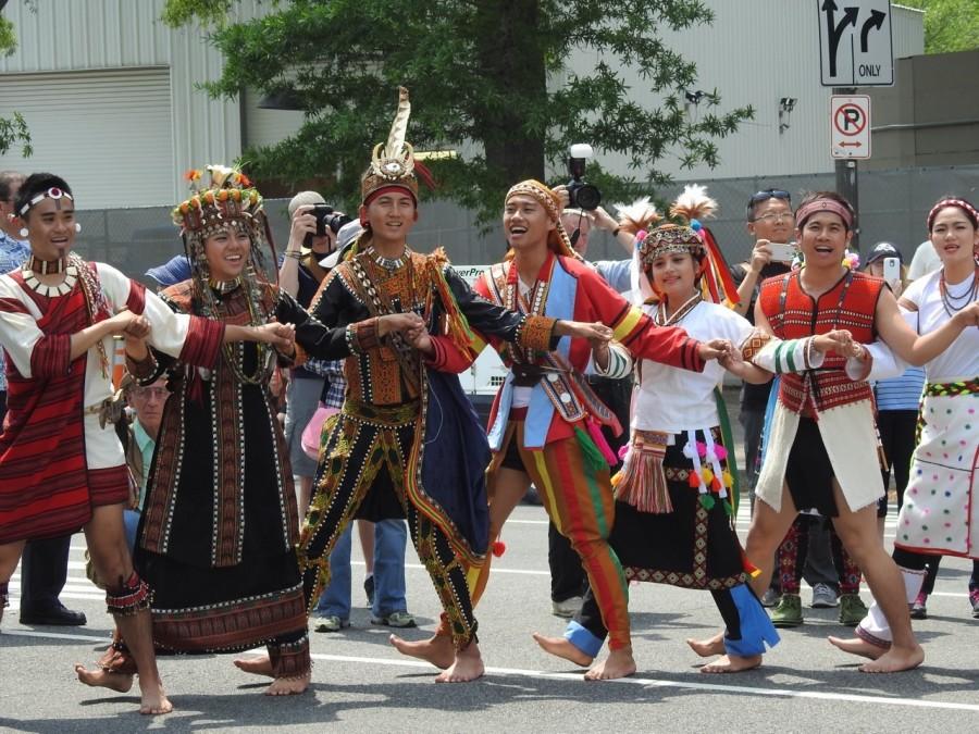 原住民歌舞團到華府參加台美人傳統週 2015