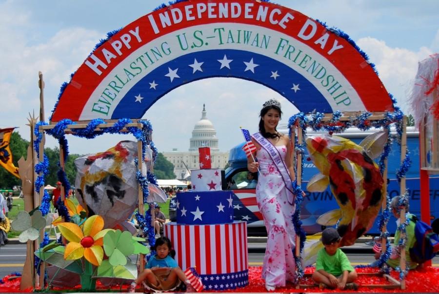 華府美國國慶日遊行 2009(後面是國會)1