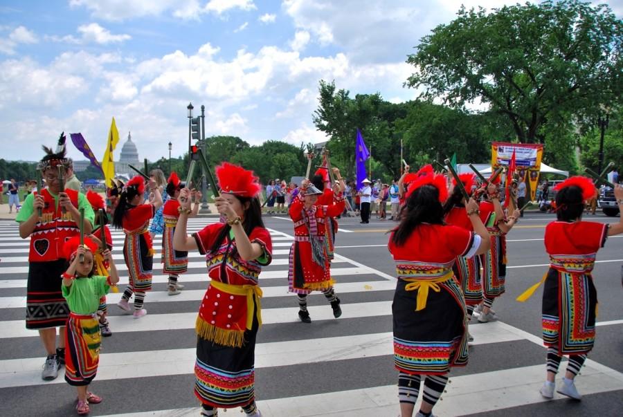 華府美國國慶日遊行 2009(後面是國會)2