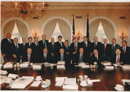 2 The trip briefing meeting at the White House on 01191991