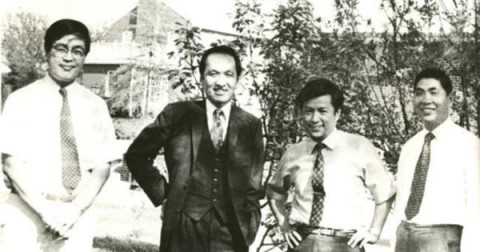 周烒明1972 in Morgantown, West Virginia