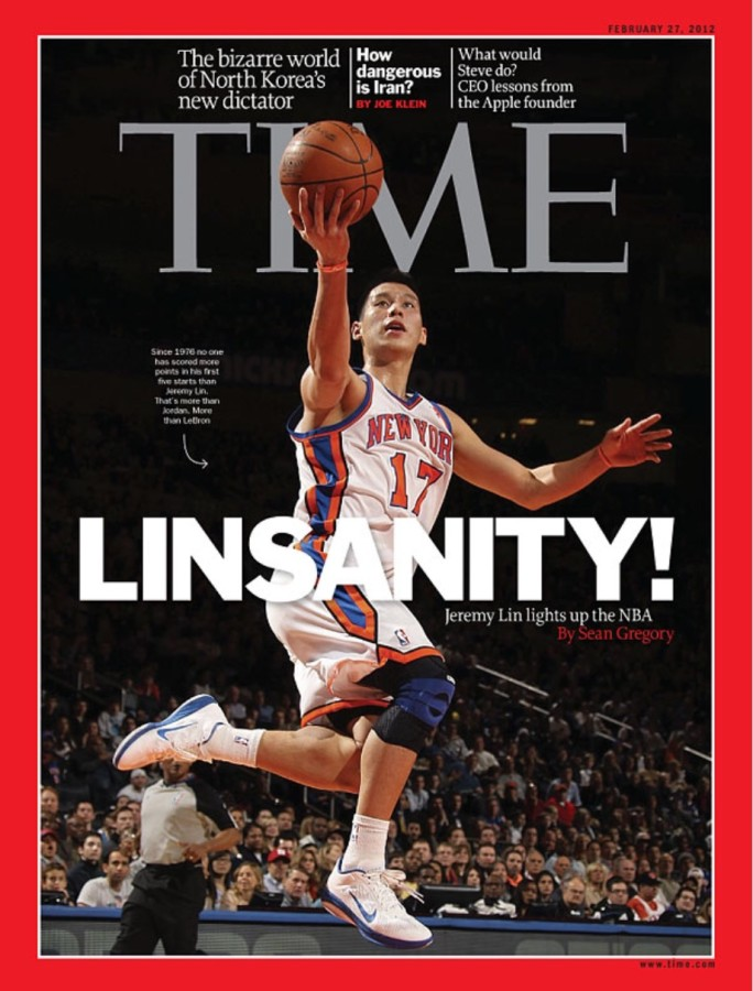 Time Cover Jeremy Lin