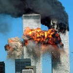 42. 09/11/2001 / 911 Attack by Middle East Terrorists on NY Twin Towers, Pentagon and White House with flying airplanes