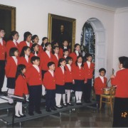 28. GloryStar Children's Chorus performed at the White House in 1998