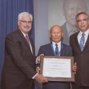14. NASA Distinguished Service Medal, NASA's Highest Honor / Dr. William Ko / 2015
