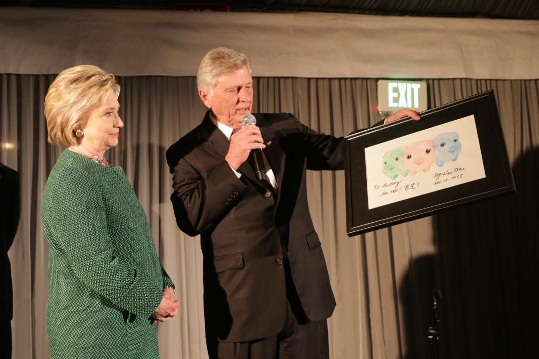 Hillary's photo