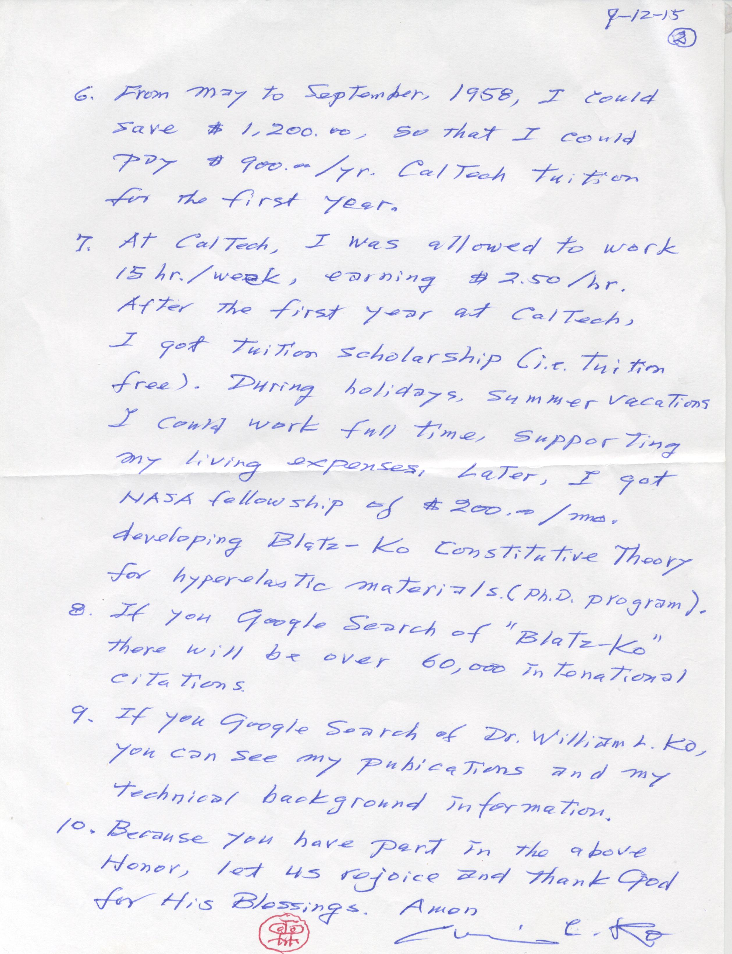 letter from william ko - 0010