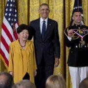 5. National Medal of Technology and Innovation 國家科技創新獎章 / Nancy Ho 何汪瑗 /05/2016