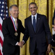 4. National Medal of Technology and Innovation 國家科技創新獎章 / Chenming Hu 胡正明 /05/2016