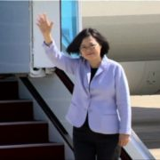 4. President Tsai Ing-wen of Taiwan visited U.S.A. first time on June 24 ~ 30, 2016