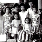 373. Dr. and Mrs. Guei-Yun Yang / The Largest Family of First-Generation Taiwanese American - One Boy and Five Girls