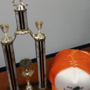 22. Trophy, Hats Used in 7 & 8 Taiwan Olympic 獎盃、帽子 by 第七、八屆南加州台灣人運動會