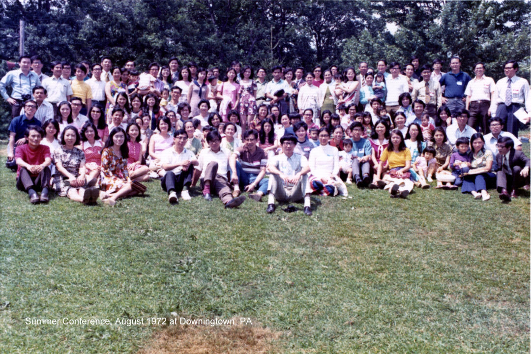 Summer Conference 1972 Group Photo