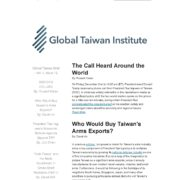 Newsletter of Global Taiwan Institute