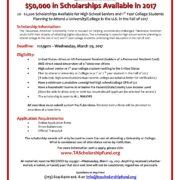 73. Taiwanese American Scholarship Fund