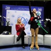 313. Karen Chen 陳楷雯 / United States Figure Skating Championships, Gold medal / 2017