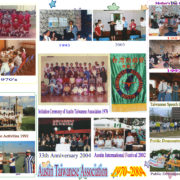 122. Display Panel for Photo Activities of Austin Taiwanese Association 1970~2004