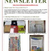 26. Newsletter of T.A. Archives February, 2017