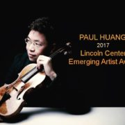 37. LINCOLN CENTER AWARDS FOR EMERGING ARTISTS 林肯中心新銳藝術家獎 / Paul Huang 黃俊文 /2017