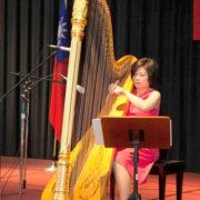 395.  Ching-Ju Cheng 鄭靜如, Harpist & Pianist / 2017/05