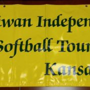 40. Banner of Taiwan Independence Cup Softball Tournament Kansas