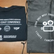 45. T-shirt and Bag of ITASA 2017 West Coast Conference