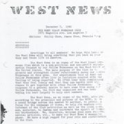 West News by West Coast Formosan Club