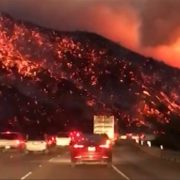 26. The wildfires in S. CA in December 2017