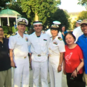 366. Mr.& Mrs.  John & Jensin Sommer were graduated from United States Naval Academy and retired from U.S. Navy. Their Daughter Lael and Son Peyton entered in United States Naval Academy (一家父母及兒女皆進入美國海軍官校)