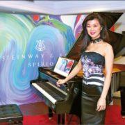 367. Gwhyneth Chen 陳毓襄 / 史坦威SPIRIO鋼琴十位全球代 表之一,也是唯一的台美鋼琴家 / 2017