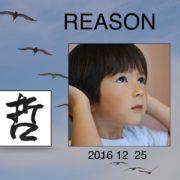 1229. Reason / 朱耀源 /12/2016/Life/生活