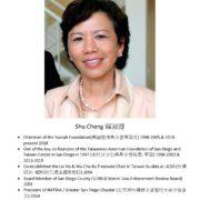 1. Shu Cheng 賴淑卿