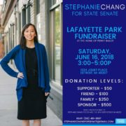 137.  First Taiwanese American State Senator Stephanie Chang /Michigan/2018