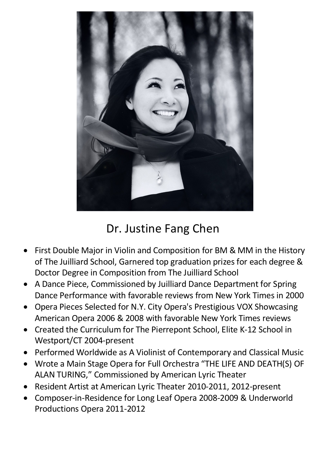 208. Dr. Justine Fang Chen