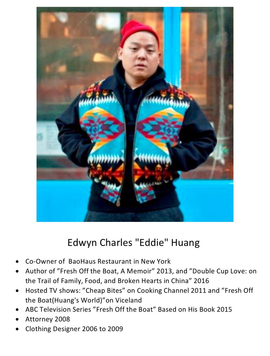 """231. Edwyn Charles """"Eddie"""" Huang"""