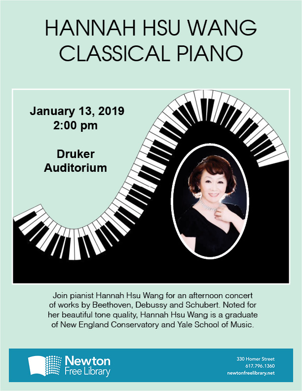 143. Hannah Hsu Wang Classical Piano Concert in Boston 01/13/2019