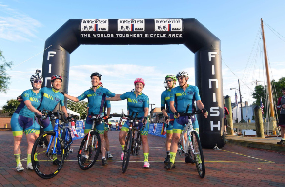 137. Team Sea to Sea : Bicycle Race Across America in 7 Days