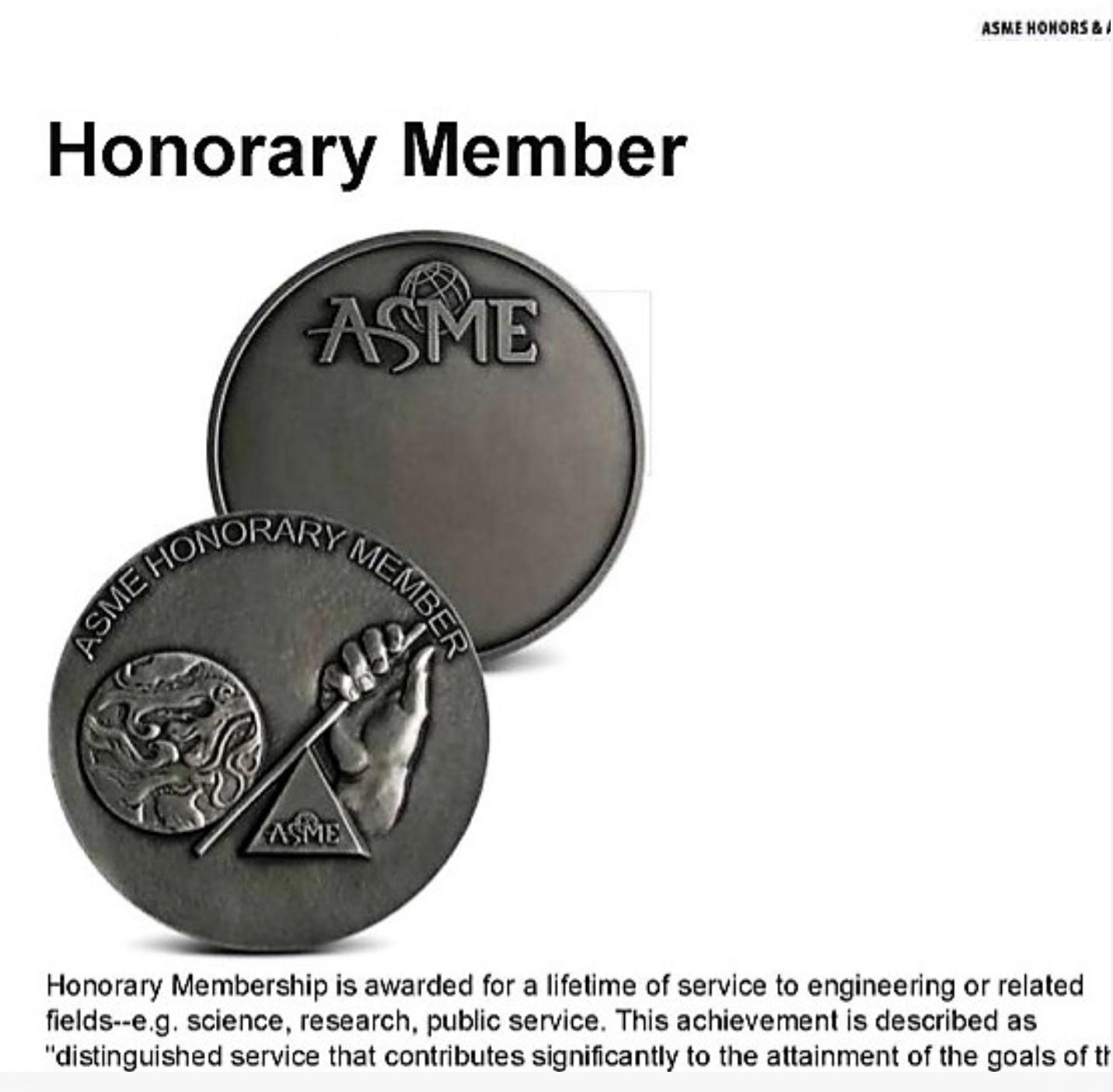 77. ASME Honorary Member Award/黃界清教授 (Je-Chin Han) /2020