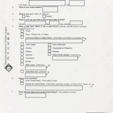 TA Census Campaign 2000