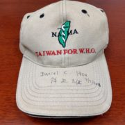 68. Hat of Taiwan For W.H.O. by NATMA