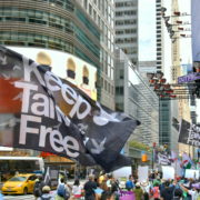 12. UN for Taiwan & Keep Taiwan Free Parade in N. Y. City on 9/22/ 2018