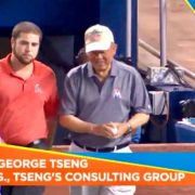 380. The First Taiwanese American to Throw the First Pitch of the U. S. Major League Baseball/Miami Marlins: Dr. George Tseng in Miami FL 07/29/2016