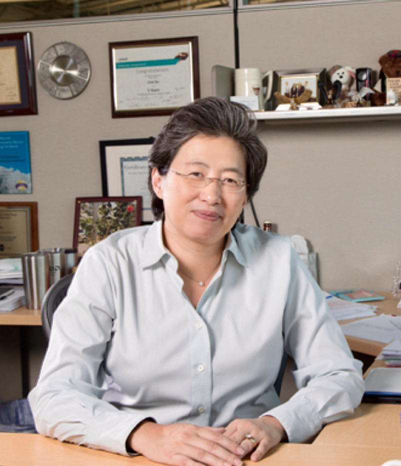 71. Dr. Morris Chang Exemplary Leadership Award Offered by Global Semiconductor Alliance (GSA) on  December 6, 2018. : Dr Lisa Su. President and CEO of Advance Micro Devices( AMD)