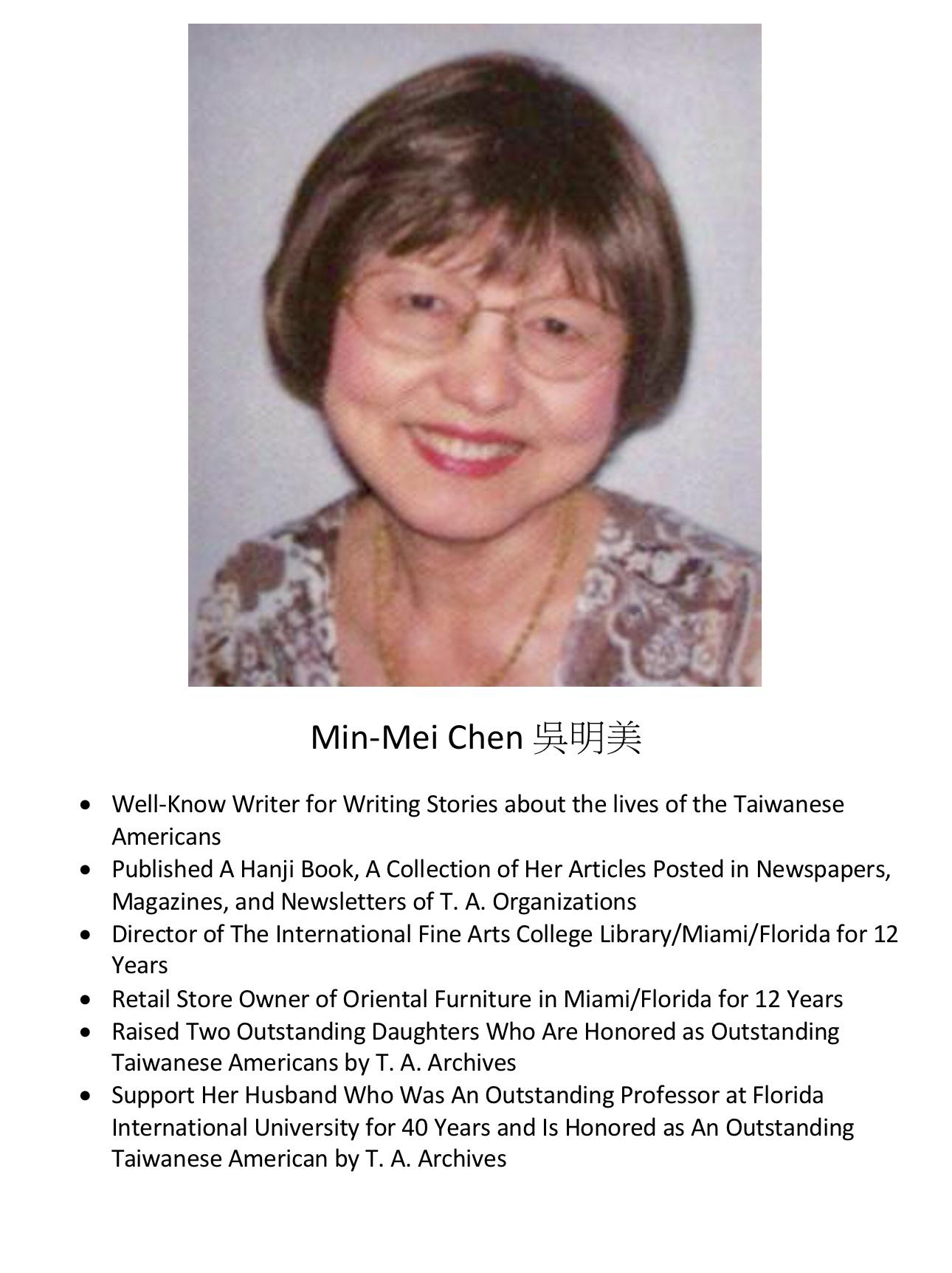 268. Min-Mei Chen 吳明美