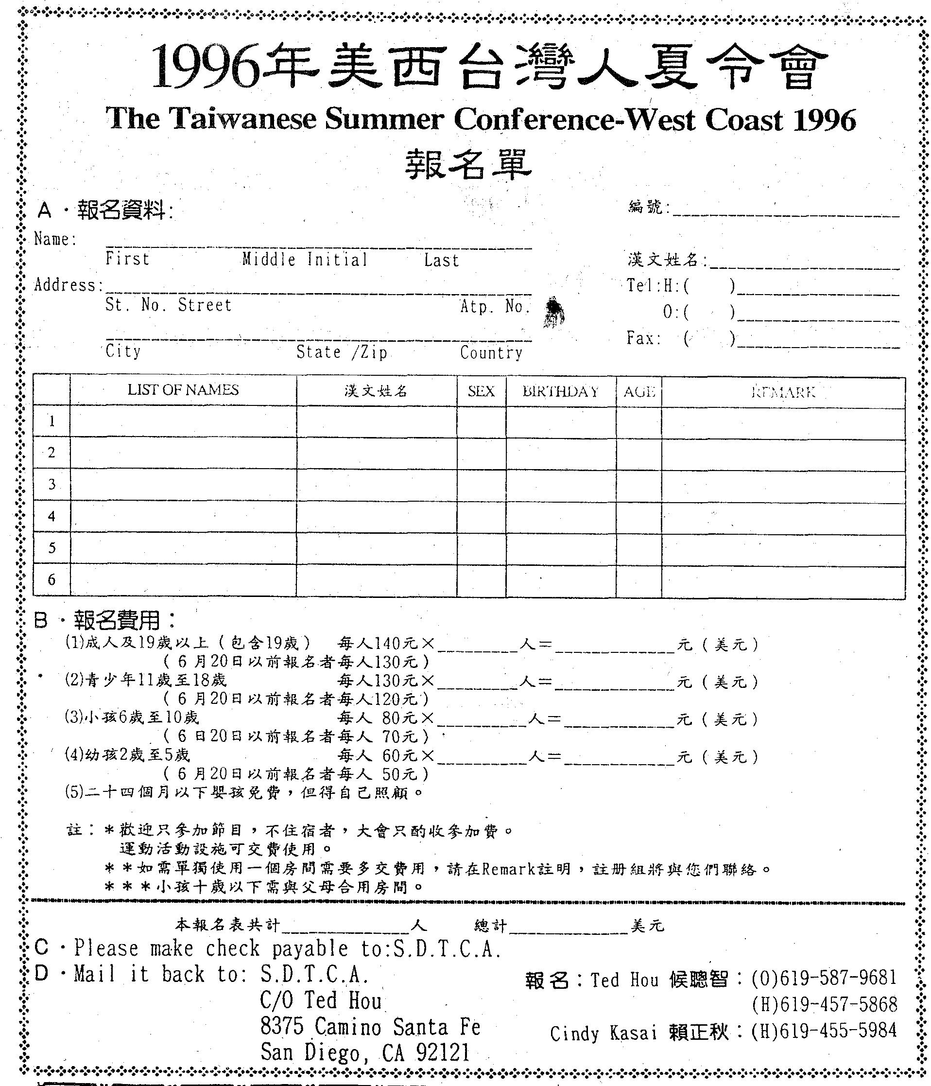 TACWC 1996