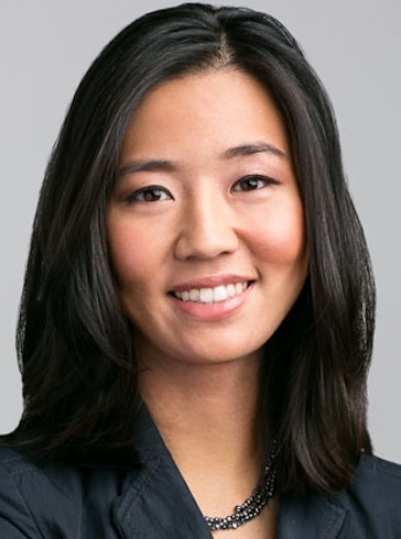 Michelle Wu 吳彌 in Boston