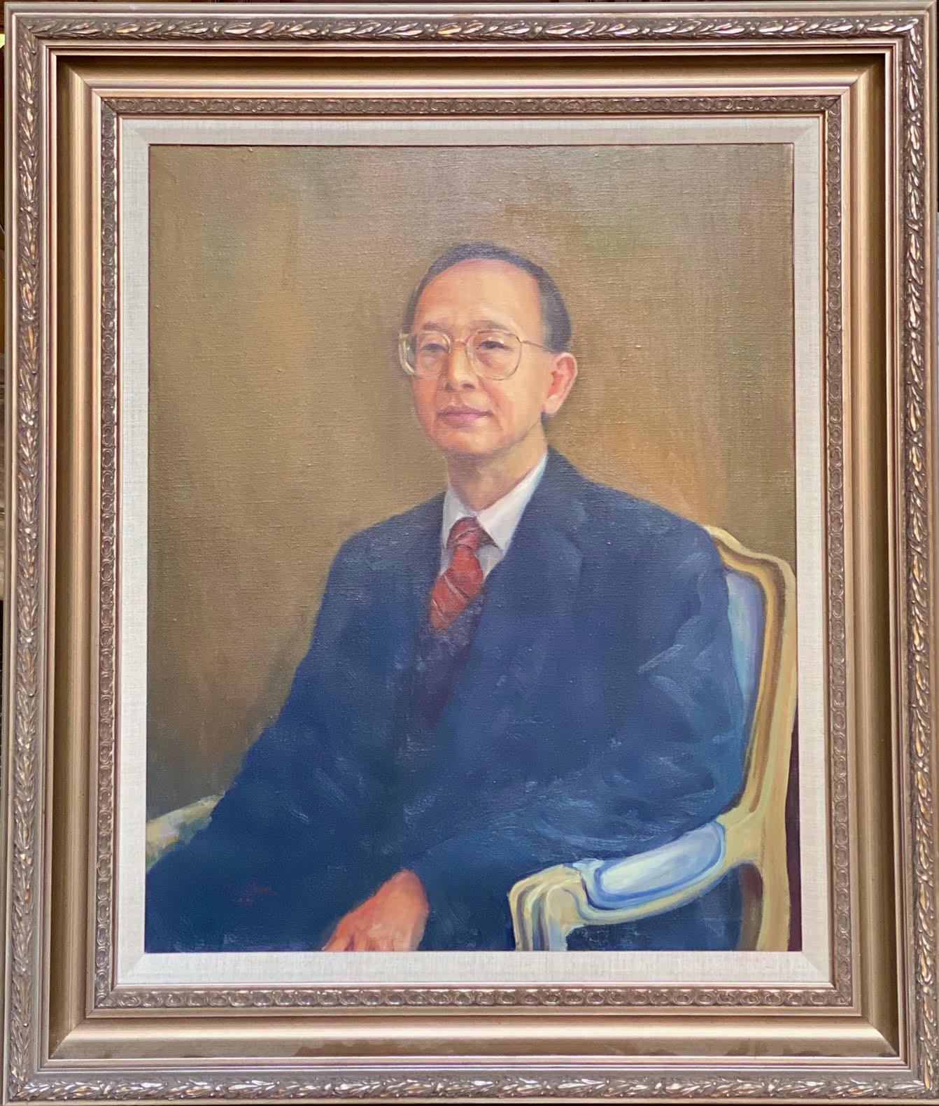 34. Dr. Bob Cheng  鄭寶鼎博士By Artist Chao-Min Liu(劉兆民)