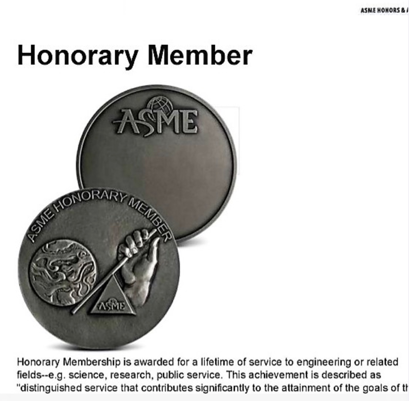 77. ASME Honorary Member Award/黃界清教授 (Je-Chin Han) /2020
