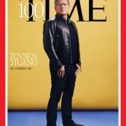 79.  Jensen Huang, Time's 100 Most Influential People of 2021